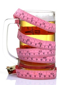 Consumul moderat de bere şi masa corporală